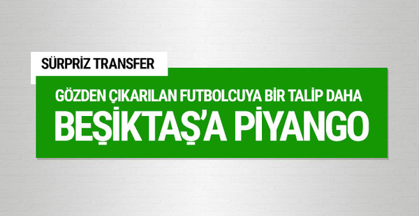 Beşiktaş'a piyango! Bir talip daha çıktı