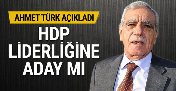 Demirtaş'ın yerine geçecek mi ? Ahmet Türk'ten bomba iddiaya cevap!