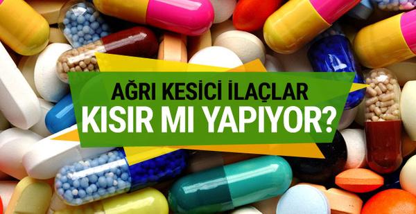 Ağrı kesici ilaçlar kısırlık mı yapıyor?