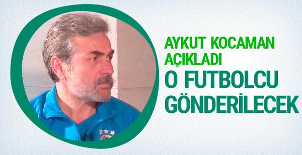Aykut Kocaman Ozan Tufan'ın gönderileceğini açıkladı