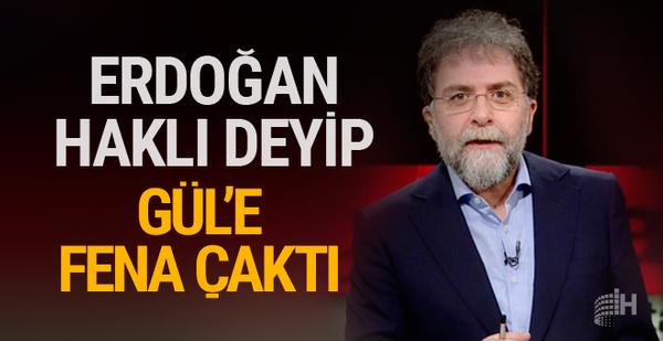 Ahmet Hakan Erdoğan'a hak verdi! Abdullah Gül...