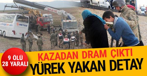 Şırnak'ta korkunç kaza! 9 kişi öldü 28 yaralı var