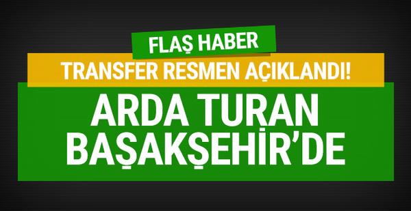 Arda Turan Başakşehir ile anlaştı