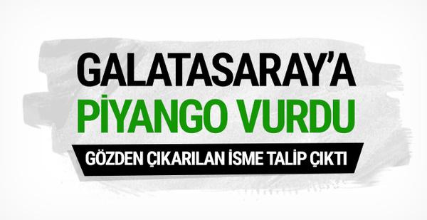 Galatasaray'a Tarık Çamdal piyangosu