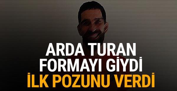 Arda Turan Başakşehir formasını giydi