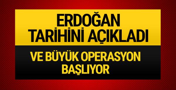 Erdoğan'dan operasyon açıklaması! Türkiye Afrin'e giriyor