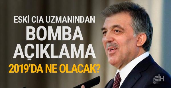 Eski CIA uzmanından bomba Abdullah Gül açıklaması!