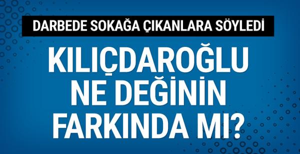 Kılıçdaroğlu 15 Temmuz'da sokağa dökülenlere 'militan' dedi