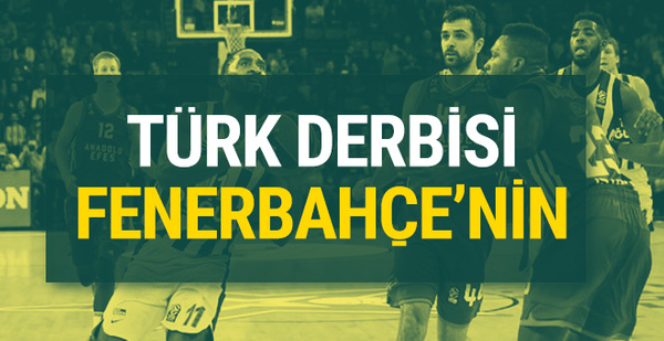 Türk derbisini Fenerbahçe Doğuş kazandı