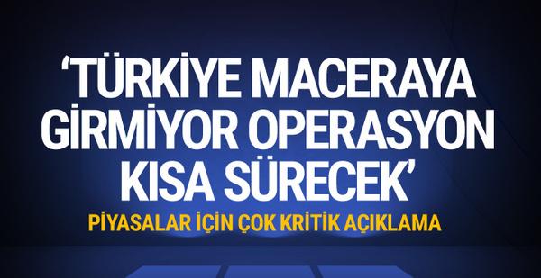 Mehmet Şimşek'ten flaş operasyon açıklaması