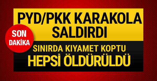 Afrin'de 5. günde son durum ne? PKK Kamışlı'dan saldırdı