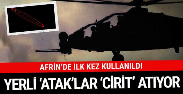 Türk askerleri kabusu oldu! Yerli Ataklar ilk kez vurdu