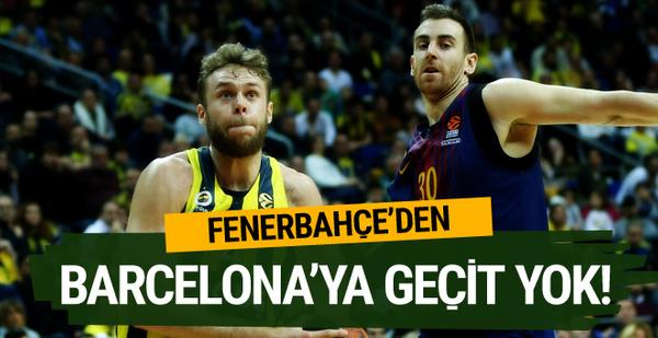 Fenerbahçe Doğuş Barcelona'yı devirdi