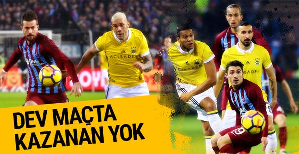 Trabzonspor Fenerbahçe maçı golleri ve geniş özeti