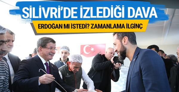 Ahmet Davutoğlu Silivri'ye gitti! İşte izlediği FETÖ davası