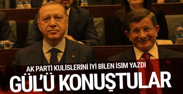 Bomba iddia! Erdoğan ile Davutoğlu Gül'ü mü konuştu?..