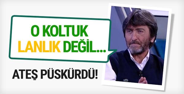 Rıdvan Dilmen'den Aykut Kocaman'ı eleştirenlere olay sözler