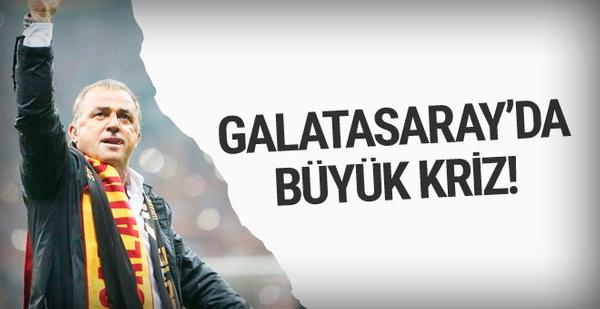 Galatasaray'da Fatih Terim ile ilk kriz!