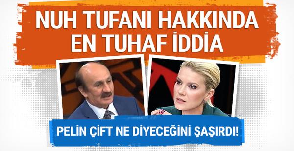 TRT'de yayınlandı: Nuh Tufanı hakkında en tuhaf iddia!