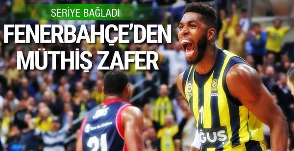 Fenerbahçe Doğuş'un galibiyet serisi sürüyor