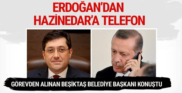 Erdoğan'dan Murat Hazinedar'a telefon