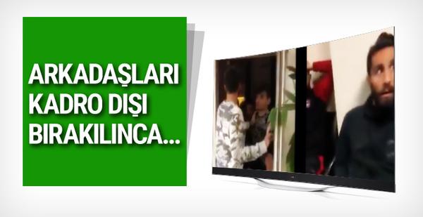 Gaziantepspor'da ortalık karıştı! Futbolcular oda bastı