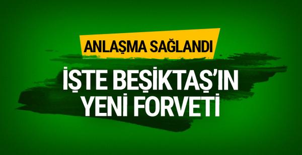 Beşiktaş'ta Cenk Tosun'un yerine gelen isim belli oldu