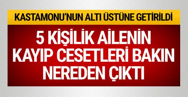 Kastamonu'daki kayıp Çataloğlu ailesiyle ilgili flaş gelişme!
