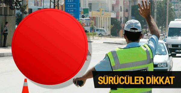 Yeni trafik cezaları! Emniyet şeridi ve kırmızı ışık cezası kallavi olacak