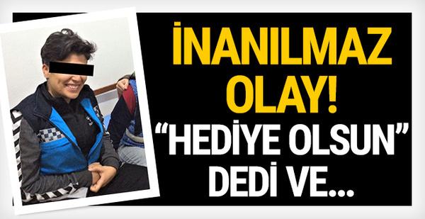 Bursa'da inanılmaz olay! 'Benden sana hediye olsun' dedi ve...