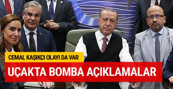 Erdoğan'dan bomba açıklamalar Cemal Kaşıkçı olayı da var