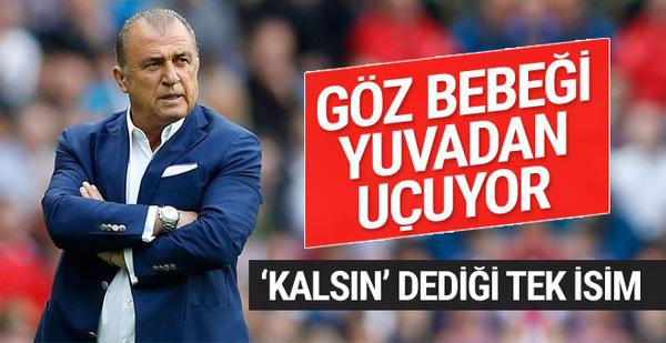 Galatasaray'da flaş ayrılık! Terim'in göz bebeği yuvadan uçuyor