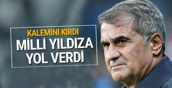 Şenol Güneş kalemini kırdı! Milli futbolcu Beşiktaş'tan ayrılıyor