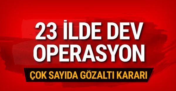 Büyük operasyon! 19'u muvazzaf 34 asker için gözaltı kararı
