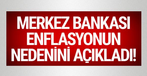Merkez Bankası'ndan son dakika enflasyon açıklaması!