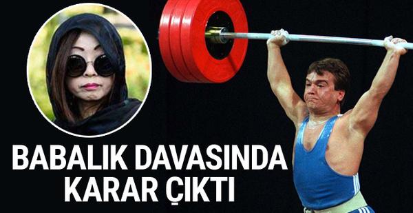 Naim Süleymanoğlu'nun babalık davasında karar çıktı