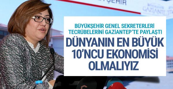 Büyükşehir Genel Sekreterleri tecrübelerini Gaziantep'te paylaştı