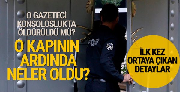 O gün Suudi konsolosluğunda çalışan Türklere izin verilmiş!
