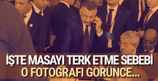 Türkiye İtalya'daki toplantıyı neden terk etti? O fotoğraf ortaya çıkınca...