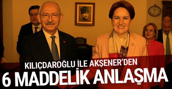 Ahmet Hakan: Akşener ile Kılıçdaroğlu, 6 maddede anlaştı 36