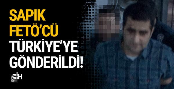 ABD'den sınır dışı edilen sapık FETÖ'cü İstanbul'da!