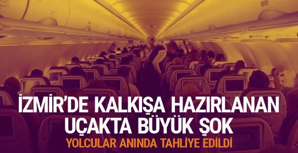 """İzmir'de yolcunun, """"TNT Taşıyorum"""" şakası ortalığı karıştırdı"""