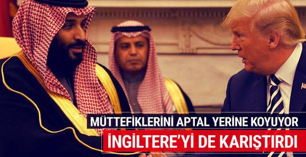 Suudi Arabistan ve Prens İngiltere'yi karıştırdı