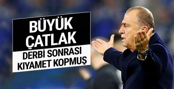 Galatasaray'da deprem! Terim, Mustafa Cengiz'e bozulmuş