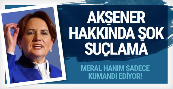 Meral Akşener'e şok suçlamalar! İstifa ederken bombaladılar...