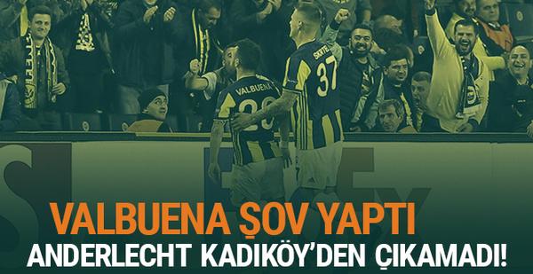 Fenerbahçe Anderlecht UEFA Avrupa Ligi maçı golleri ve geniş özeti