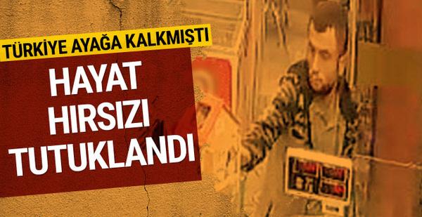 Bursa'da hayat çalan hırsız tutuklandı!