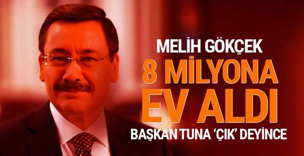 Melih Gökçek 8 milyon lira verip başkanlık konutunu satın aldı