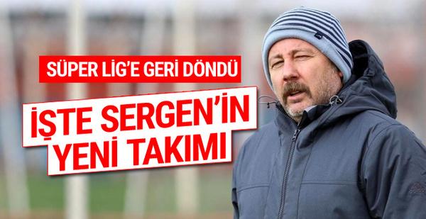 Süper Lig'e geri döndü! İşte Sergen Yalçın'ın yeni takımı