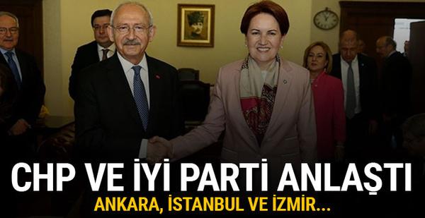 CHP ve İyi Parti seçim için anlaştı! İşte detaylar